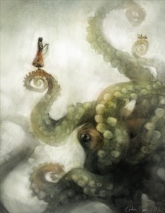 """Picture by Galen Dara: """"A City On It's Tentacles"""""""