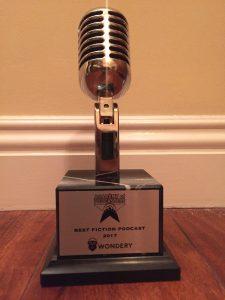 Best Fictional Podcast Trophy