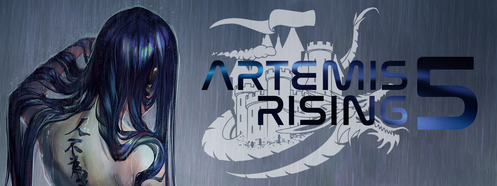 Artemis Rising 5 Banner by Yuumei art