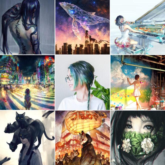 Yuumei Art Photo Compilation